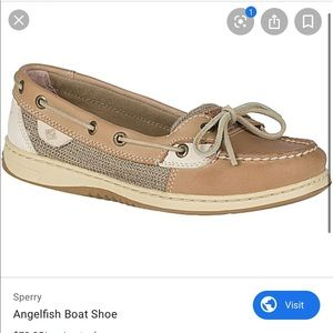 Sperry topsiders anglefish loafers